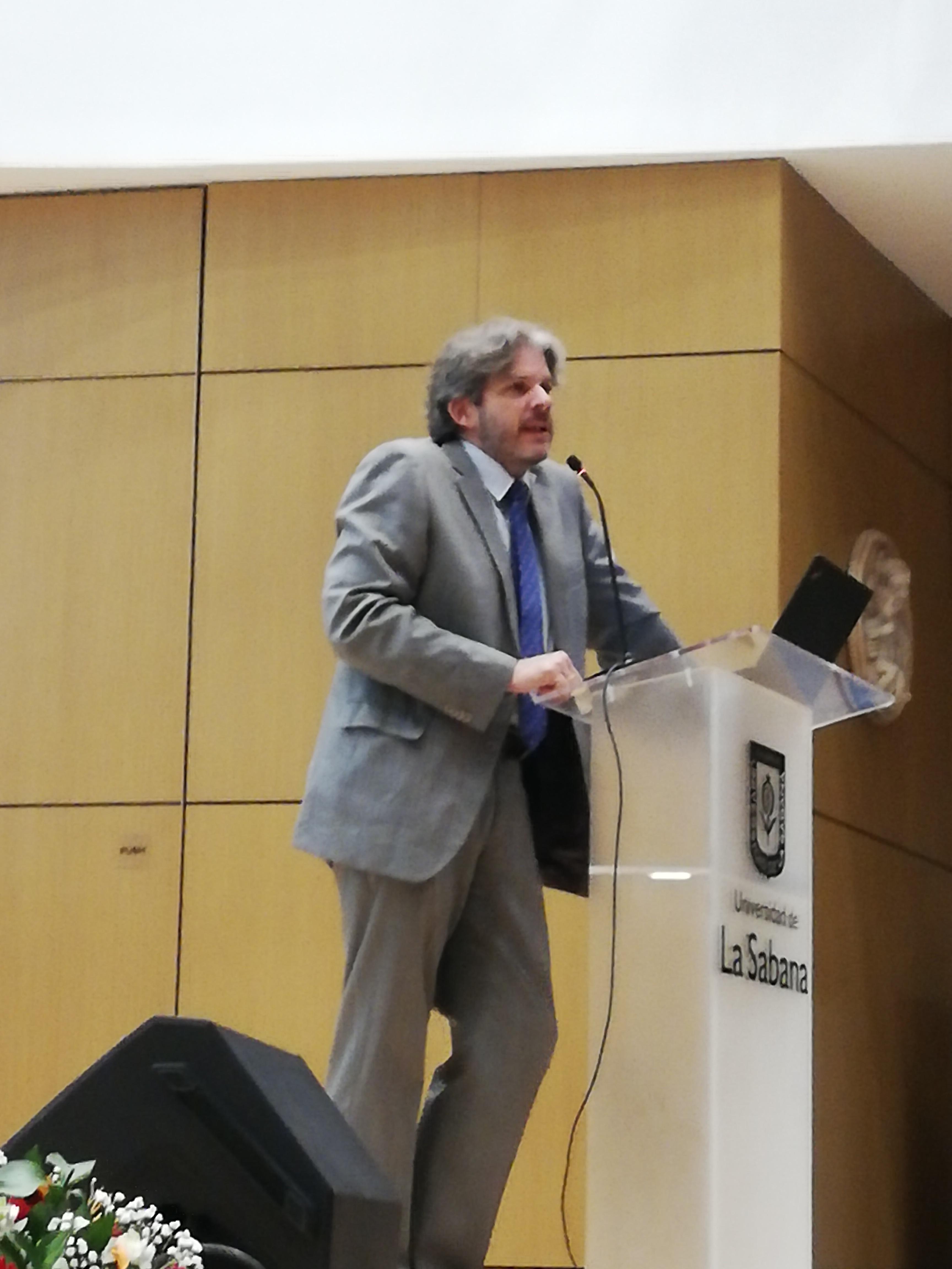 Boris Wüllner, Director del Programa de Ingeniería de Producción Agroindustrial de la universidad