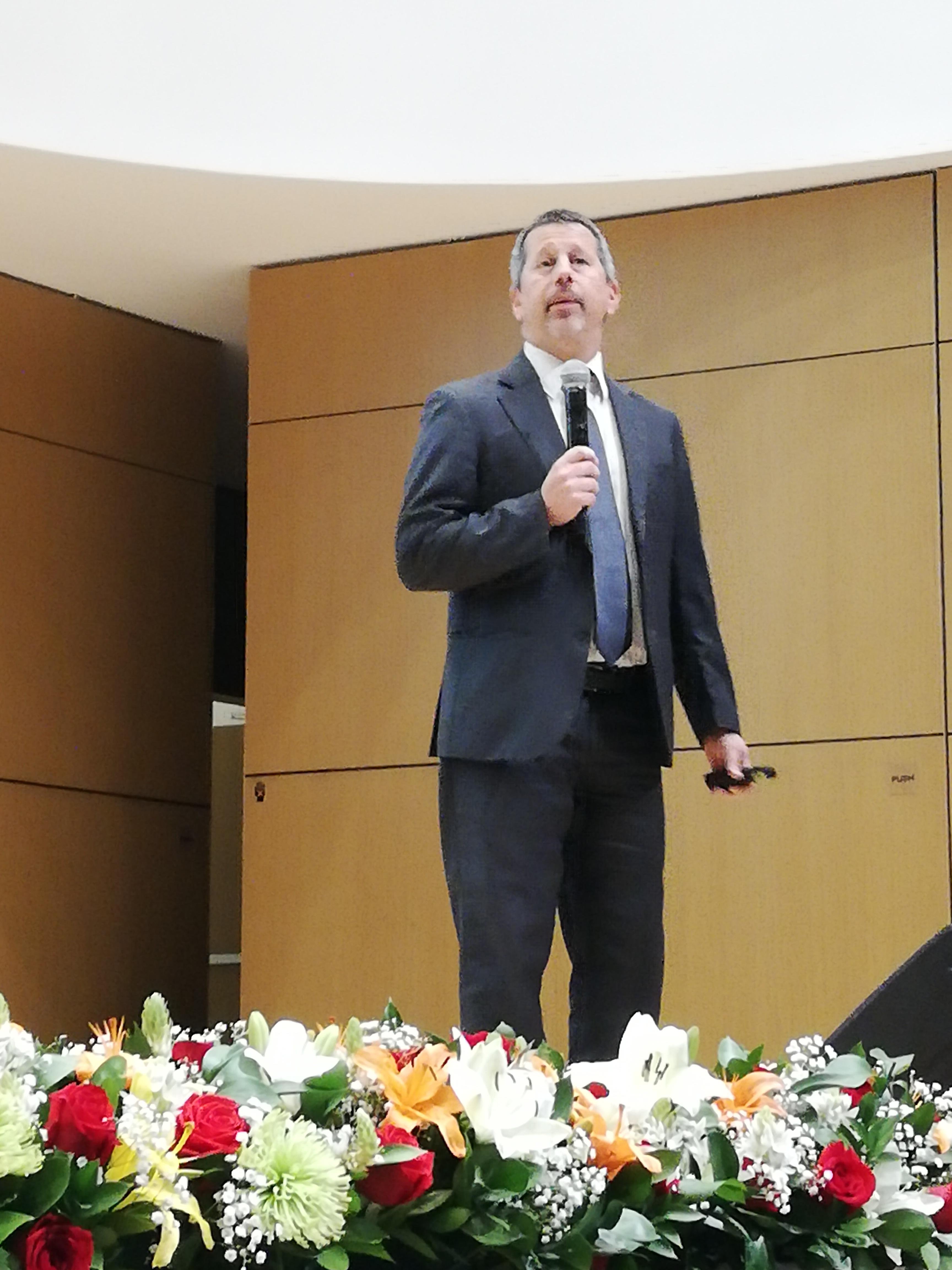 Ariel Londinsky, Secretario General de la Federación Panamericana de Lechería FEPALE - Uruguay